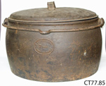 Pot, cooking; J Kenrick & Sons; CT77.85