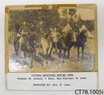 Photograph [Clutha Mounted Rifles]; [?]; 1989; CT78.1005i