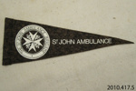 Flag [St John Ambulance Brigade]; St John Ambulance Association; 20th century; 2010.417.5