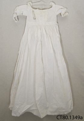 Gown, christening; [?]; Early 20th century; CT80.1349a