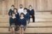 Photograph [Catlins Area School students]; [?]; c1980s-1990s; CT4583.7