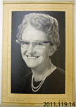 Photograph [Beryl?]; J B Mandahl; 1965; 2011.119.14
