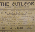 Magazine, The Outlook, December 14, 1936; William Henry Adams; 1936; CT81.1250g