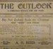 Magazine, The Outlook, December 14, 1936; Presbyterian Church of New Zealand; 1936; CT81.1250g