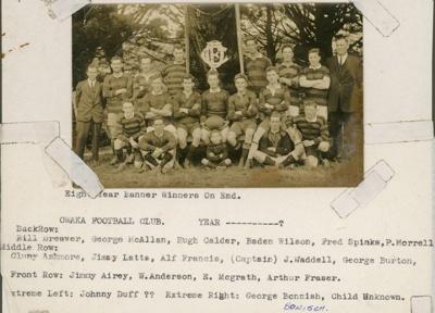 Photograph [Owaka Football Club]; [?]; 20th century; 2010.743