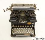 Typewriter; Royal Typewriter Co Inc; c1914; CT89.1928