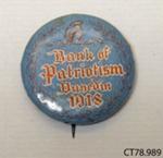 Badge ; [?]; 1918; CT78.989