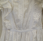 Christening gown; [?]; 19th century; CT80.1337b