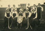 Photograph [Romahapa Hockey Team, 1921]; Eastes & Kerr, Owaka; 1921; CT79.1286d1