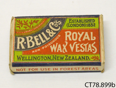 Matchbox; R Bell & Co; [?]; CT78.899b