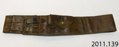 Belt, military ; [?]; [?]; 2011.139