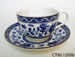 Teacup and saucer; Doulton & Co Ltd; CT80.1200b