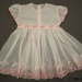 Dress, girl's; [?]; 1950s; CT08.4822.22