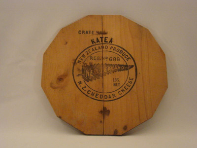 Cheese crate end, CT83.1362.17