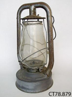 Lamp, hurricane; Colton, Palmer & Preston; CT78.879