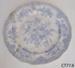 Plate, dinner; R Hammersley & Son; 1885-1905; CT77.8