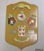 Plaque, commemorative [Battle of River Plate]; Badges & Crests 1986 Ltd; 1989; 2009.6.2