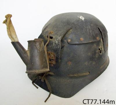 Hat, miner's; CT77.144m
