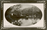Photograph [Boating on the Catlins River]; Muir & Moodie; Early 20th century; CT79.1030a