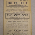 Magazine, The Outlook, 1935; William Henry Adams; 1935; CT79.1152f - g