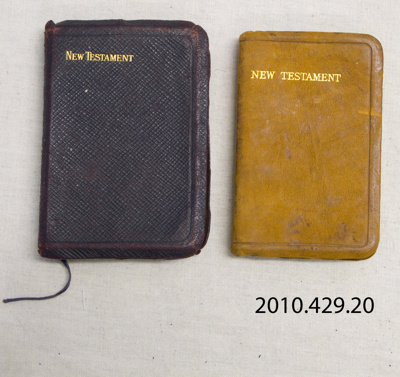 Religious book, New Testament; Oxford University Press; Early 20th century; 2010.429.20