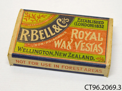Matchbox; R Bell & Co; [?]; CT96.2069.3
