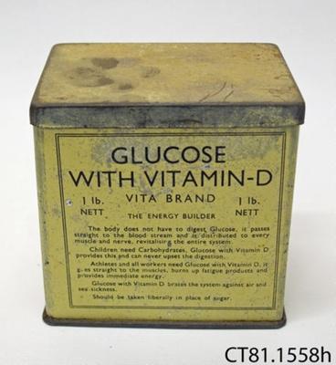 Tin [Glucose]; Vita Products Co; [?]; CT81.1558h