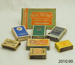 Collection of cigarette and matchboxes; [?]; 2010.90