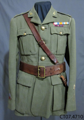 Jacket, Army Dress; [?]; c1914-1918; CT07.4710