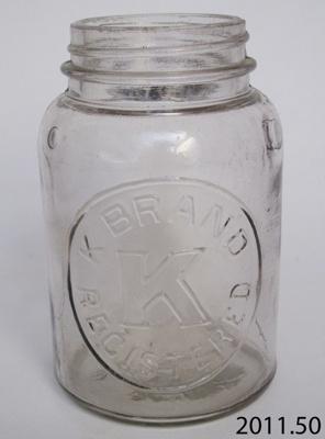 Jar, preserving; 2011.50