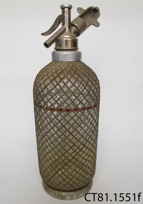 Syphon, soda; Sparklets Ltd; CT81.1551f
