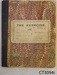 Diary, Willie Bradfield, 1908; Bradfield, Willie; 1908-1909; CT 3094i