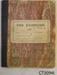 Diary, Willie Bradfield, 1908; Bradfield, Willie; 1908-1909; CT 3094i