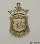 Badge, military ; J & F; [?]; 2011.148