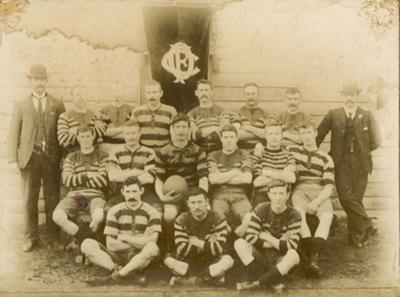 Photograph [Owaka Football Club, 1903]; [?]; 1903; CT79.1058d