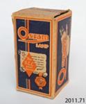 Box, light bulb ; The General Electric Co Ltd; 2011.71