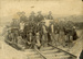 Photograph [Workers, Railway Line, Ratanui]; [?]; Early 1900s; CT08.4839a