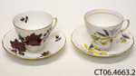 Cups and saucers; Ridgway Potteries Ltd; 1955-1964; CT06.4663.2