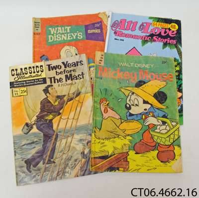 Books, comic; [?]; c1970s; CT06.4662.16