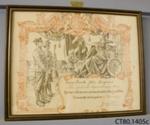 Certificate of Honourable Discharge [Private John Langmuir]; Partridge, Bernard; c1919; CT80.1405a