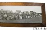 Photograph [Owaka District High School 75th Anniversary] ; Phillips, E A (Dunedin); 1951; CT83.1118a
