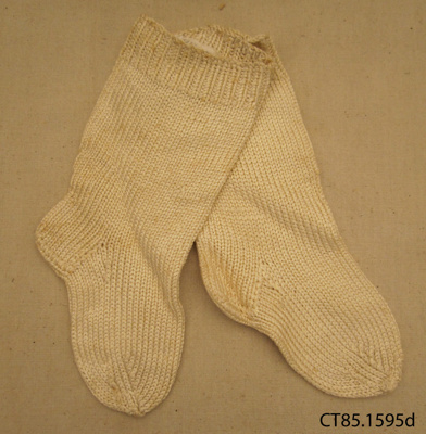 Socks, children's; [?]; [?]; CT85.1595d