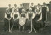 Photograph [Romahapa Hockey Team, 1921]; Eastes & Kerr, Owaka; 1921; CT79.1286d2