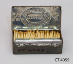 Matchbox; R Bell Co (est 1832); CT.4055