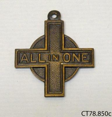 Medal; [?]; [?]; CT78.850c