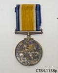 Medal, military; [?]; c1919; CT84.1138p