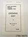Programme [Owaka Memorial Community Centre]; Owaka Memorial Community Centre Committee; 1968; CT85.1807f2