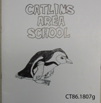 Magazine, Catlins Area School, 1985 and Homework Diary; Catlins Area School; 1985; CT1807g