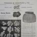 Catalogue, price list, W J R McCallum, Saddle and Harness Maker and Timber Merchant, Owaka; Triggs & Denton Ltd; c1920-1960; CT02.4073