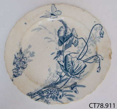 Plate Dinner R Hammersley Amp Son 1885 1905 Ct78 911